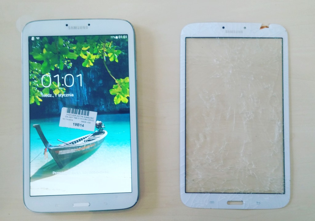 Wymian dotyku Samsung Galaxy Tab 3 SM-T310